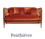 This comfortable-looking Louis xvi sofa model is called the Penthièvre